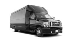 Party Bus black or white, 20, 25, or 30 passengers