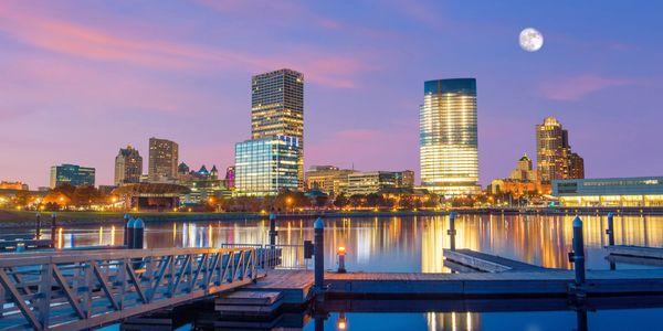 Milwaukee Skyline Downtown
