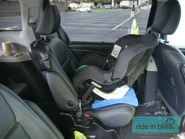 Car seat installed and ready to go